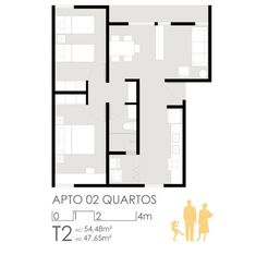 1º Lugar no concurso para edifícios de usos mistos em Sol Nascente – trecho 2,Unidade 3