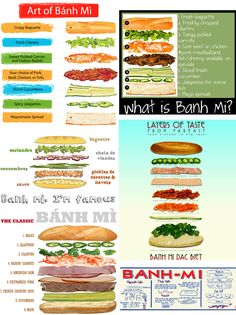 ljcfyi: Hello there banh mi Vietnamese Street Food, Vietnamese Sandwich, Banh Mi Sandwich, Sandwich Bar, Sandwich Shops, Vietnamese Recipes, Asian Recipes, Beef Recipes, Cooking Recipes