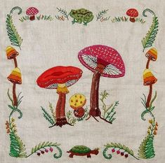 vintage mushroom pillow - Yahoo Search Results Yahoo Image Search Results