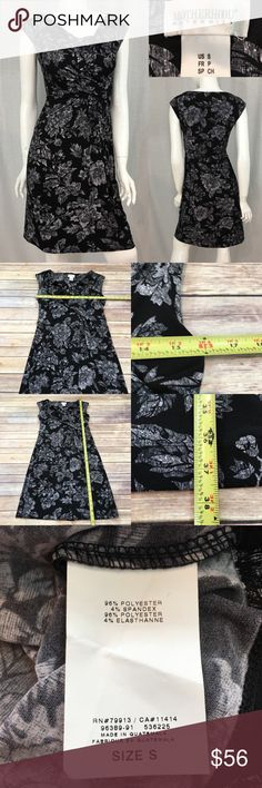 Small Motherhood Maternity Floral Cowl Neck Dress • Measurements are in photos  • Material tag is in photos • NWOT, no flaws • Cowl Neckline  • Sleeveless • Knee Length  A2/60  Thank you for shopping my closet! Motherhood Maternity Dresses