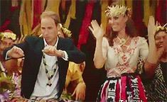 Love this gif of Will & Kate gettin' jiggy | The Best Of The Internet's Reaction To The New Royal Baby