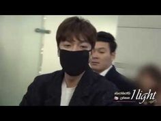 Lee Min Ho 20151125 Incheon Airport 중국 상해 출국