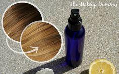 ClioMakeUp - schiarire capelli naturalmente