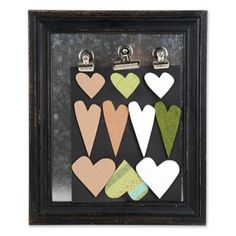Hearts Frame   Home is where the heart is. Warm up yours with this sweet sentimental frame made using heart designs from the Homegrown & Handmade collection by Stephanie Ackerman.  Artist: Stephanie Ackerman