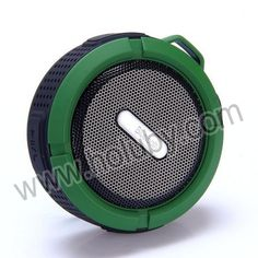 C6 Fashion Round Design Portable Mini Wireless Bluetooth Speaker(Green)