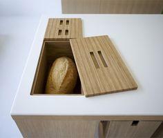 Ideas For Kitchen Organization Countertops Bread Kitchen Interior, Kitchen Design, Kitchen Decor, Kitchen Corner, New Kitchen, Bread Kitchen, Smart Kitchen, Kitchen Cupboards, Kitchen Hacks