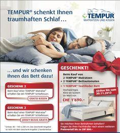 Grosse Tempur - Aktion - Arnold Betten GmbH