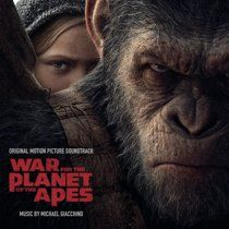 War For The Planet Of The Apes Original Score Walmart Com Planet Of The Apes Michael Giacchino Motion Picture