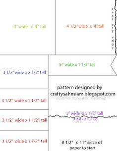 crafty sahm i am: One Sheet Wonder Card Set - part 1  Create your own DSP, 8-1/2 x 11