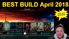 BEST KODI BUILD I HAVE SEEN IN A VERY LONG TIME