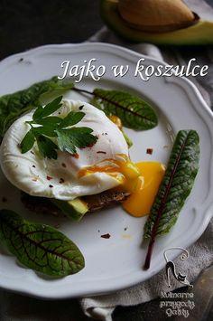Kulinarne przygody Gatity: Jajko w koszulce, jajko poszetowe z awokado