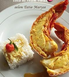 Here is a lobster recipe that will delight the palate of the most demanding. - Miriam Andrews Photo Page Lobster Recipes, Seafood Recipes, Appetizer Recipes, Starters Menu, Salty Foods, Creole Recipes, Caribbean Recipes, Fish Dishes, Fish And Seafood