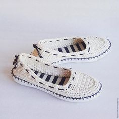 Lacey SlingBack Slippers pattern by Sophie and Me-Ingunn Santini Crochet Sandals, Crochet Shoes, Crochet Slippers, Crochet Boots Pattern, Shoe Pattern, Shoe Crafts, Diy Crafts, Crochet Ripple, Spring Boots