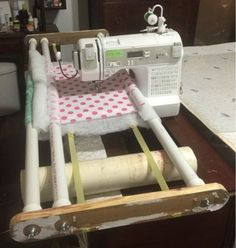 If you've seen or heard of the Flynn Multi Quilting Frame, you'll know that it costs about $180.00. After careful study, I came up with my ...