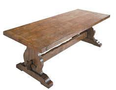 tressel table | Trestle Refectory Table