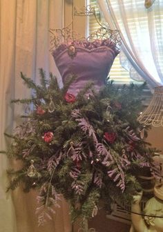 Christmas dressform!