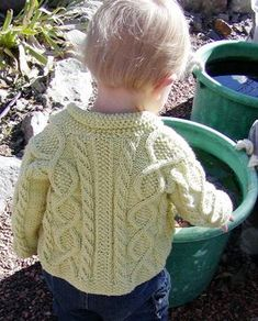 the pattern I used for Geri's sweater