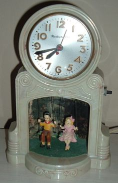Very Old Mastercrafters Swinging Bird Clock - Bakelite | Bakelite ...