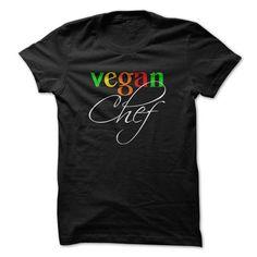 Vegan Chef T Shirts, Hoodies. Check price ==► https://www.sunfrog.com/LifeStyle/Vegan-Chef.html?41382 $19