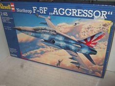 New Revell 04694 Northrop F-5F Aggressor Model Kit in larger 1:48 Scale.