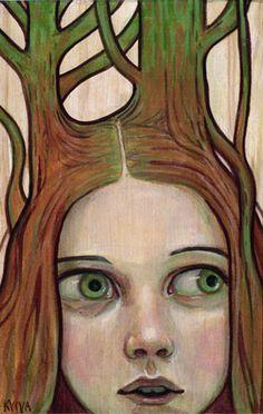 Kelly Vivanco - Art - Funny Feeling