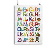 ABC Alfabetplakat