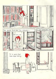 """La Comiquera : heyluchie: My comic; """"Introversion"""" is finished!..."""