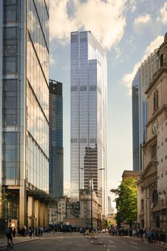 PLP Architecture gets go-ahead for second tallest skyscraper in London. Architecture Today, London Architecture, Gothic Architecture, Futuristic Architecture, Architecture Design, Masterplan Architecture, Architecture Visualization, Amazing Architecture, Gothic Gargoyles