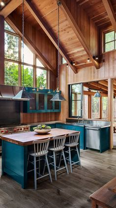 70+ Rustic Kitchen Cabinets ( COUNTRY LIFE ) - Wood Cabinet Designs