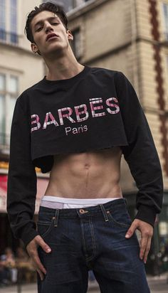9dde216553c427 118 Inspiring Crop tops for men images