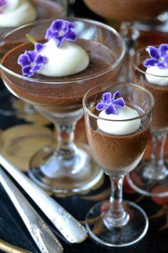 Dark Chocolate Blender Pot de Creme