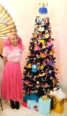 Adventure Time Christmas Tree
