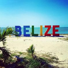 Photo of The Belize Sign Monument