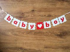 Ghirlanda Baby Boy / Big Sister realizata manualdin carton colorat  Ghirlandaeste realizata din stegulete de aproximativ 6cm. Pretul afisat este pentru o litera. Sisters, Baby Boy, Boutique, Boys, Party, Baby Boys, Parties, Senior Boys, Sons