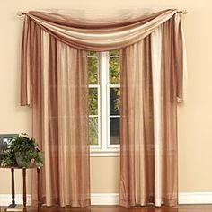 Ombre Window Treatment - Scarf 50 x 144