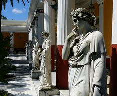 Sissi's Palace (Achilleon): Corfu, Greece