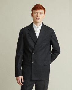 The Essential Suit The Essential, Mens Essentials, Double Breasted Jacket, Smart Design, Jil Sander, Dress Codes, Apothecary, Acne Studios, Mens Suits
