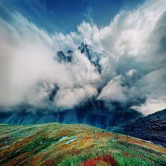 color palett, mountain color, beauti place, art, cloud, beauti planet, natur, awesom, photo