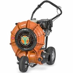 Billy Goat F1302H Blower $1,749.99  Powered by a 13.0 HP Honda GX engine with a 12 gauge steel robotically welded engine base. The Force II produces the highest static pressure of any wheeled blower available. Period. Features a 5-inch discharge.