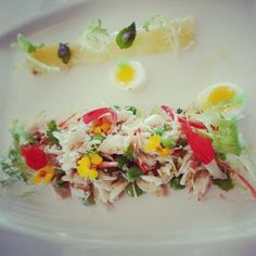 Beautifully presented & healthy salad at Samabe Bali Resort & Villas www.samabe.com