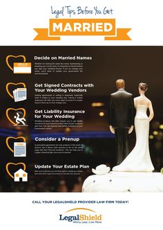 Legal Tips Before You Get Married | LegalShield