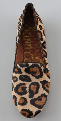 #samedelman #leopard #loafers | They are super cute and so comfy!!