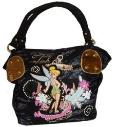 TINKER BELL DESNEY TATTOO DESIGN HAND SHOULDER BAG