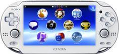 PlayStation Vita Wi-Fi Model - Crystal White Sony