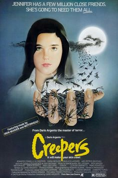 Creepers ** directed by Dario Argento