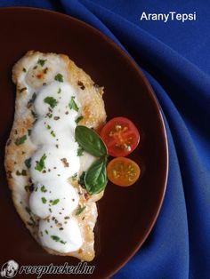 Grillezett petrezselymes-mozzarellás csirkemell Meat Recipes, Mozzarella, Grilling, Food Porn, Eggs, Breakfast, Ethnic Recipes, Foods, Drink