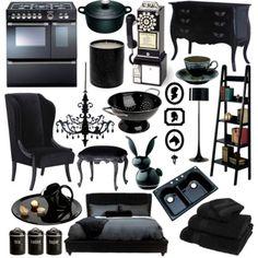 Black - Interior Design