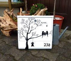 Briefkasten  shabby Vögelein von KirSchenrot via dawanda.com