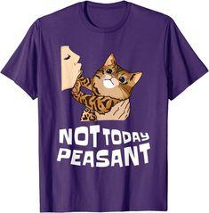 Amazon.com: Best Bengal Tee Sassy Rude Not Today Peasant Retro 70's T-Shirt: Clothing