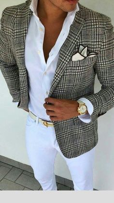 Look at this beautiful brown plaid blazer! This lo… – Look at this beautiful brown plaid blazer! This lo… – Look at this beautiful brown plaid blazer! This lo… – Look at this beautiful brown plaid blazer! Plaid Jacket, Plaid Blazer, Men Blazer, Jacket Jeans, Plaid Pants, Sharp Dressed Man, Well Dressed Men, Mens Fashion Suits, Mens Suits